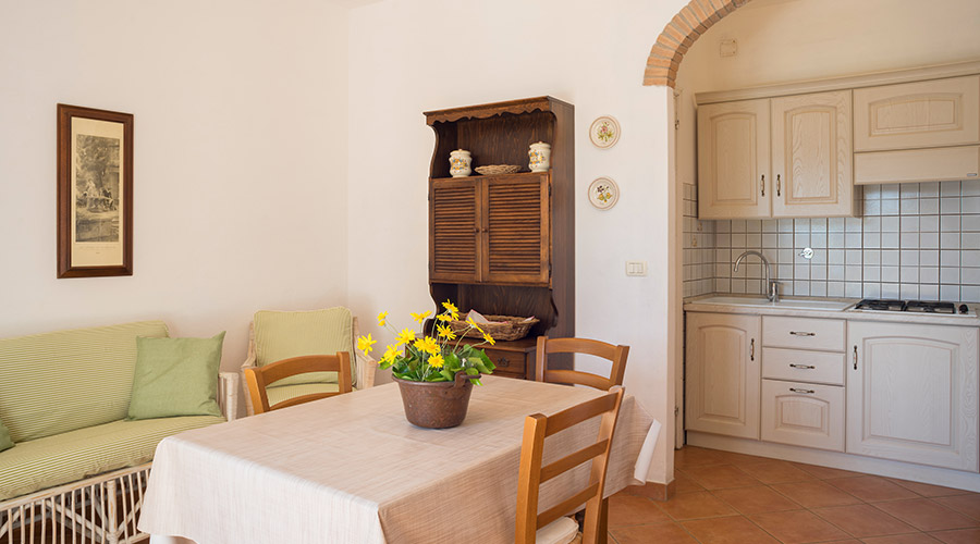 Apartments Carmignani Elba Island: three room apartments